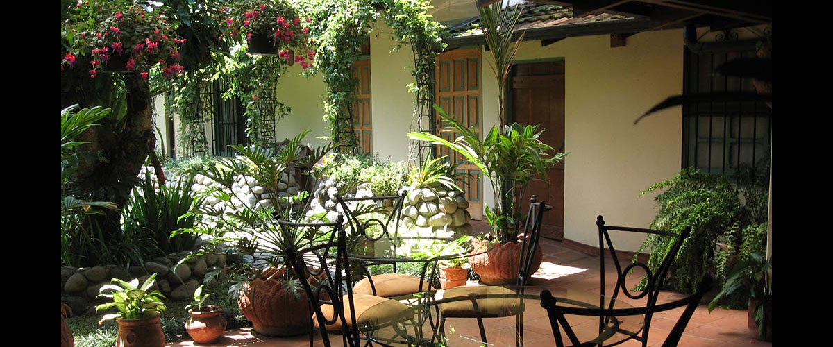 Tierra Magica Bed and Breakfast terrace